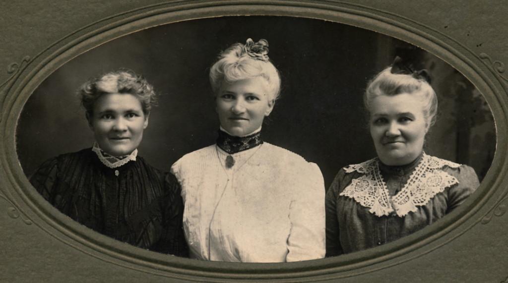 Aunt Isman, Blanche's Mother, Aunt Amelia 1903