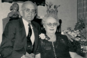 Bess & Albert at 50th