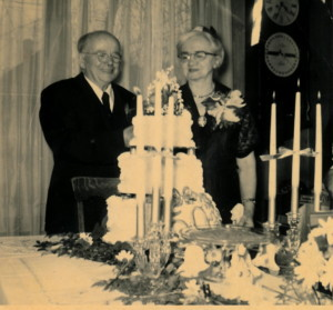 Blanche & Walter at 50th