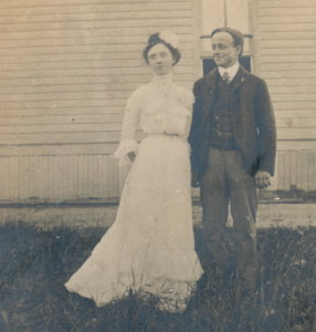 Blanche and Walter Wedding 1903