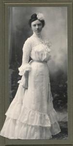 Blanche in Wedding Dress 1903