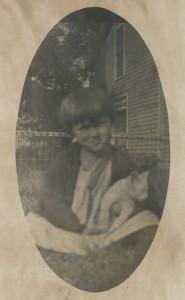 Earl with kitten