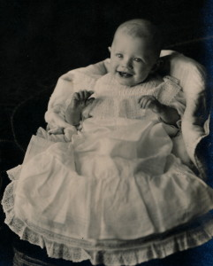 Glen Brugman as baby