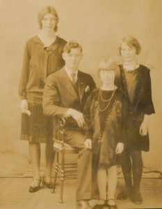 Glen, Garnet, June and Iris Brugman
