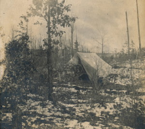 Hunting in the Manistee Forest 1900