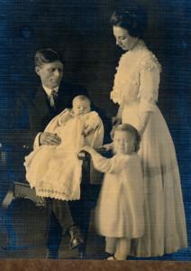 Lillian, Otto, Glen and Garnet
