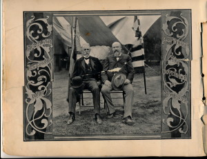 Secretary of War R.A.Alger & Michigan Governor H.S.Pingree