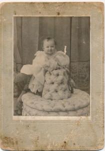 Walter's first niece, Ruth Porter