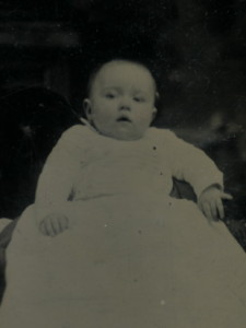 Walter as an infant - 1877