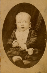 Walter at 9 months - 1878