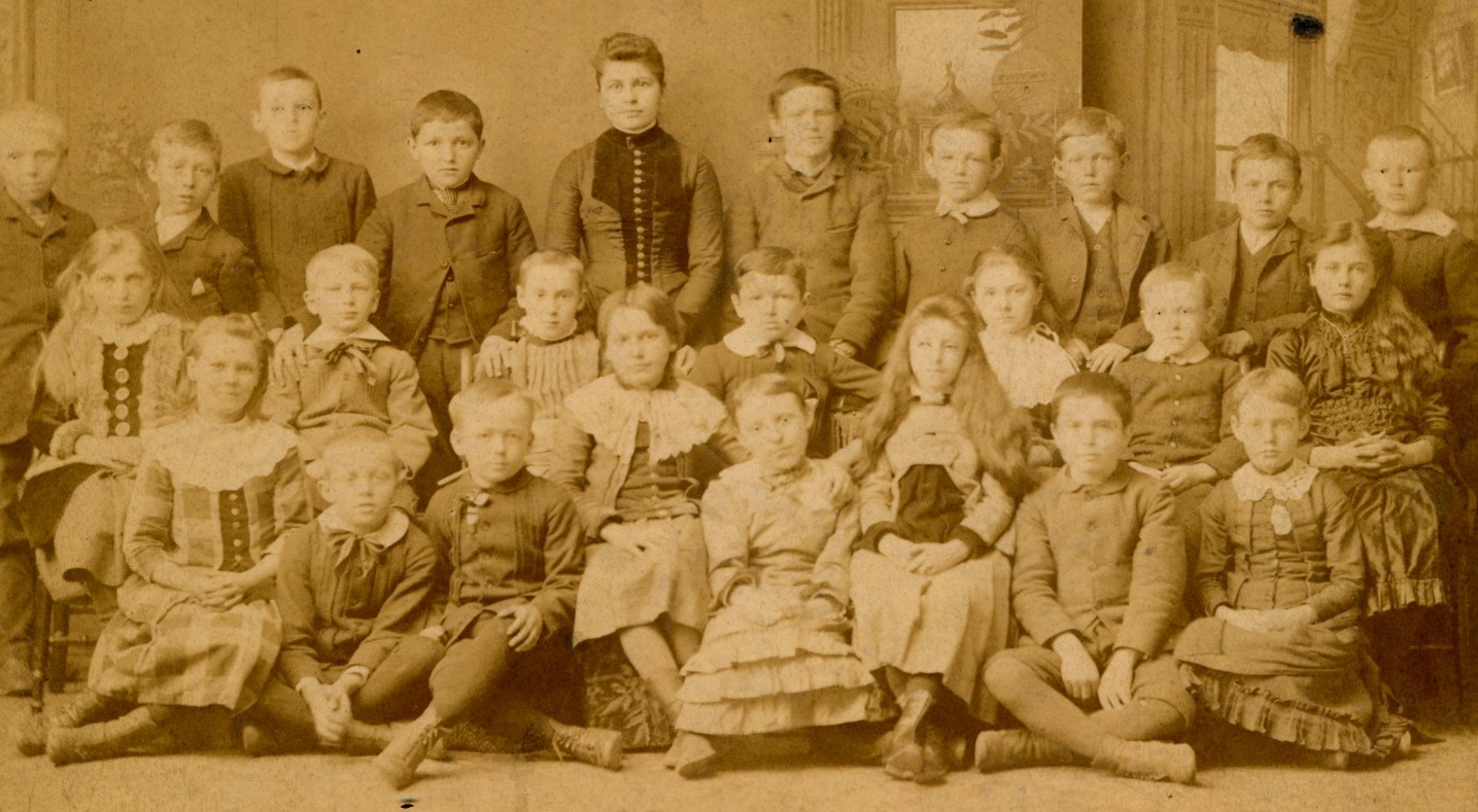 Walter in First Grade - 1883