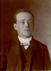 Walter in his teens