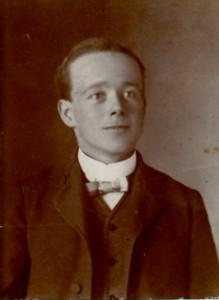 Walter in his teens