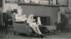 WWll Blanche reading