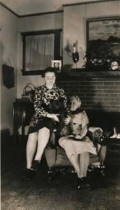 WWll Hazel and Blanche