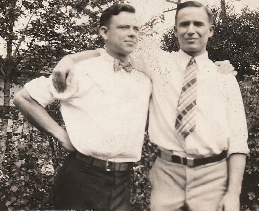 G&E E&G as young men
