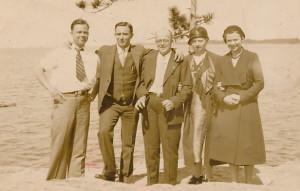 G&E family at lake