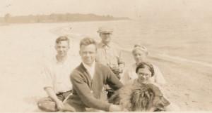 G&E family in boat