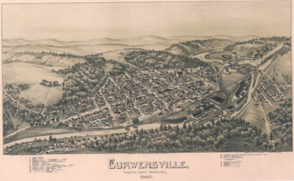 Curwinsville map