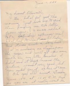 Mabel letter pg 1
