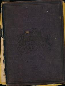 Scrapbook cover S.C.Thompson