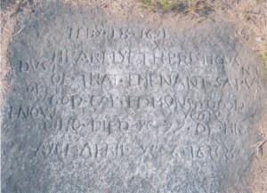 Edmund Goodenow tombstone
