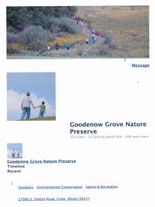 Goodenow Grove Nature Preserve