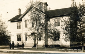 Ward 6 School where Goodenow, Ellsworth and Hazel attended.