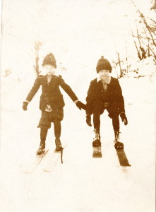 Ellsworth and Goodenow on the slopes of Manistee, Michigan
