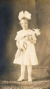 Hazel at age 6