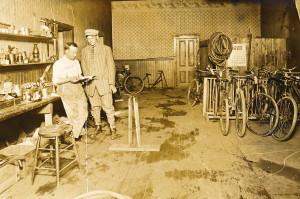 Walter's Bike Shop at Peanut Junction in Manistee, Michigan