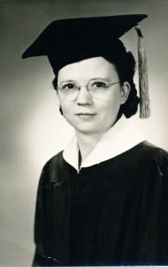 1940 Hazel Graduation