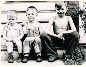 1947 Jim, David & Herb