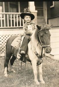 1948 David on horse