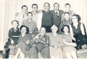 1954 Family photo