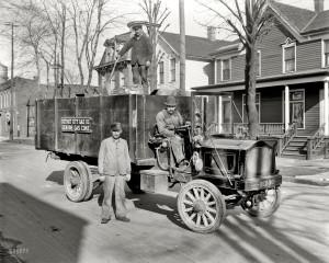 Detroit Residential Street 1920
