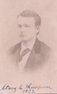 Stacy C. Thompson 1877