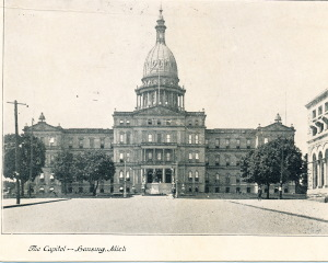 Stacy's scrapbook Lansing capitol