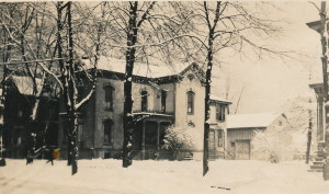 76 Lincoln Ave. Detroiit in winter