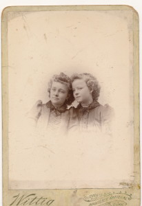BPA Claudia and Bessie 1885
