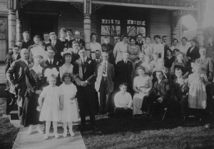 Ruth Anderson Wedding 1916 Manistee