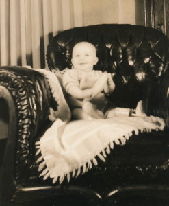 The Chair David in chair 1940