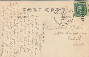 Jack A postcard back